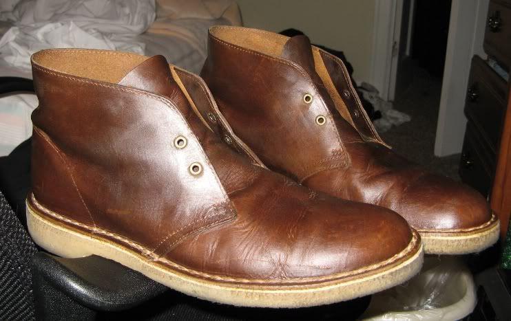 Clarks Desert Boots Sepatu Boots Sepatu