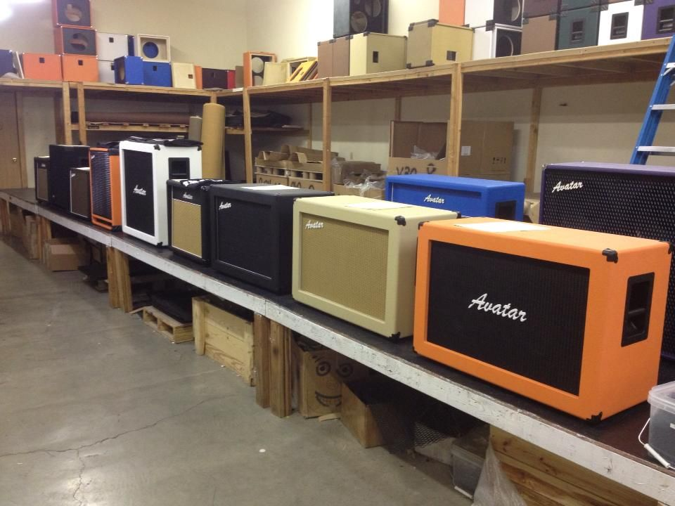 Avatar Cabs in the Avatar factory | Amps and Gear | Avatar