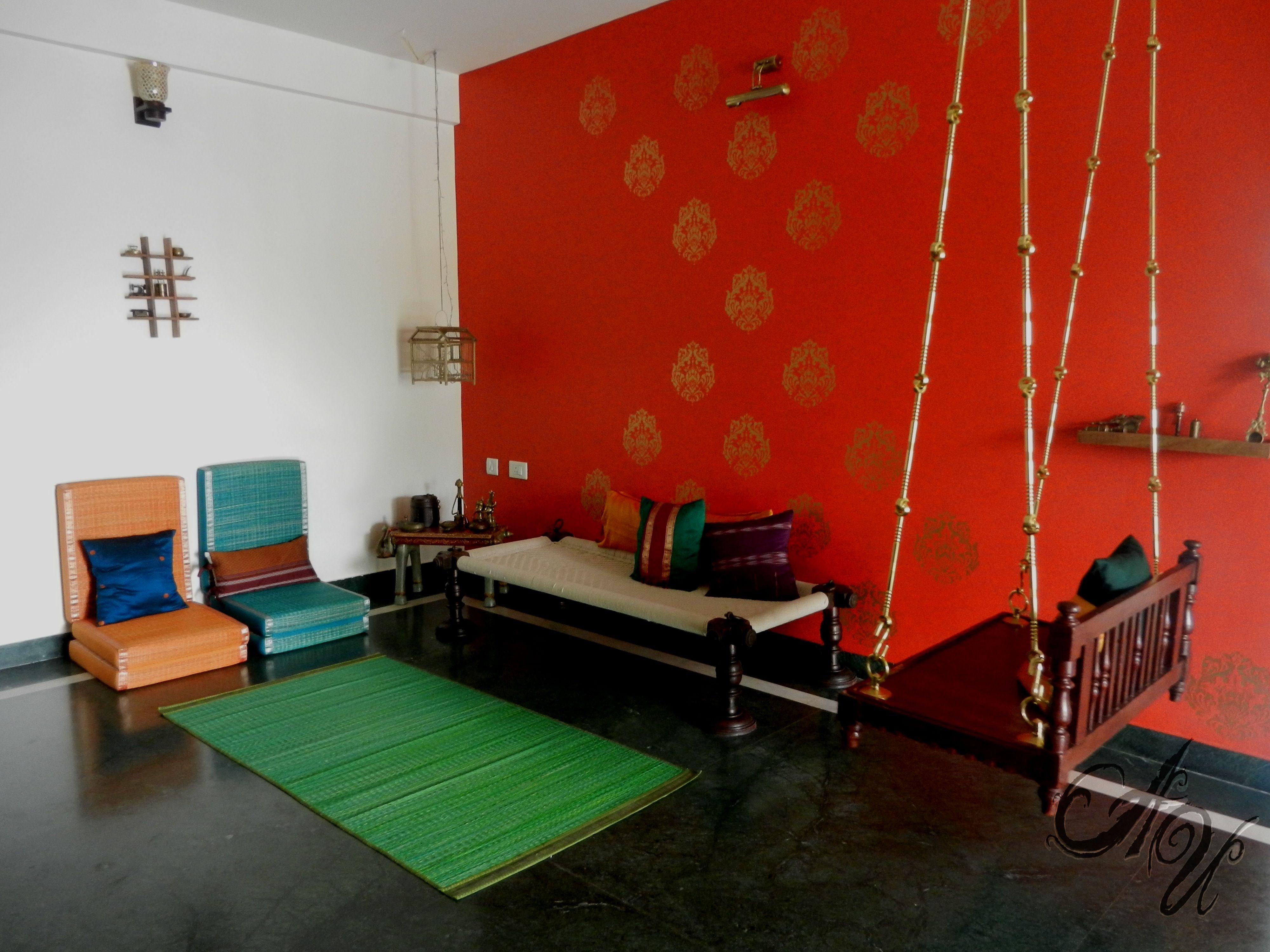 India Decor Room Living