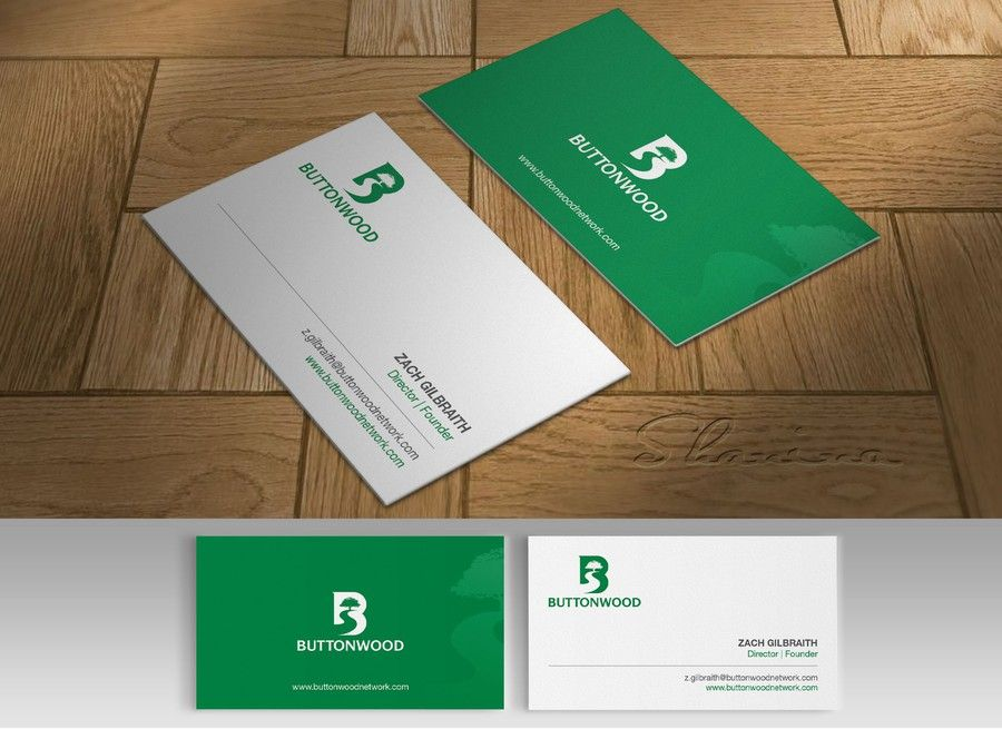 freelance Business Card for Buttonwood by Shanina | Business Card ...