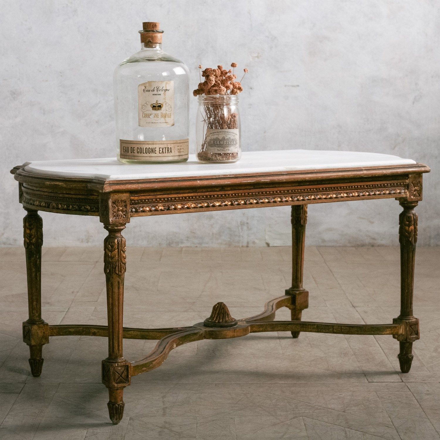 Eloquence One Of A Kind Vintage Coffee Table Deep Gilt