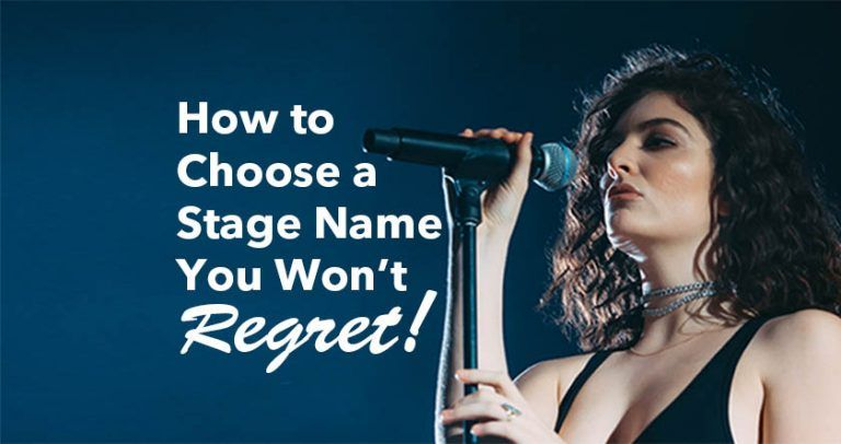 How To Choose A Stage Name You Won T Regret Open Mic Uk Stage Name Names Stage