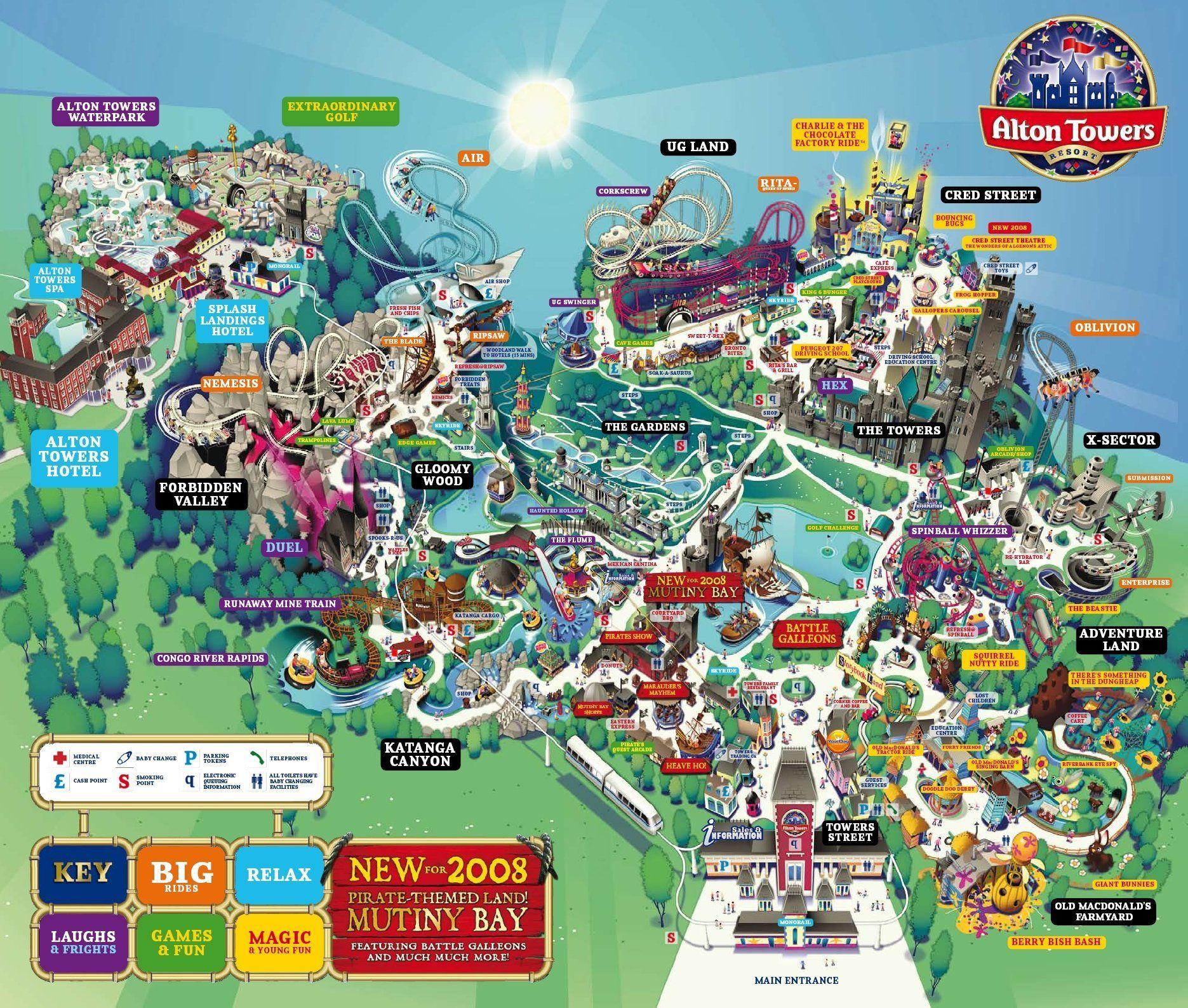 Old Park Maps Towerstimes Parchi
