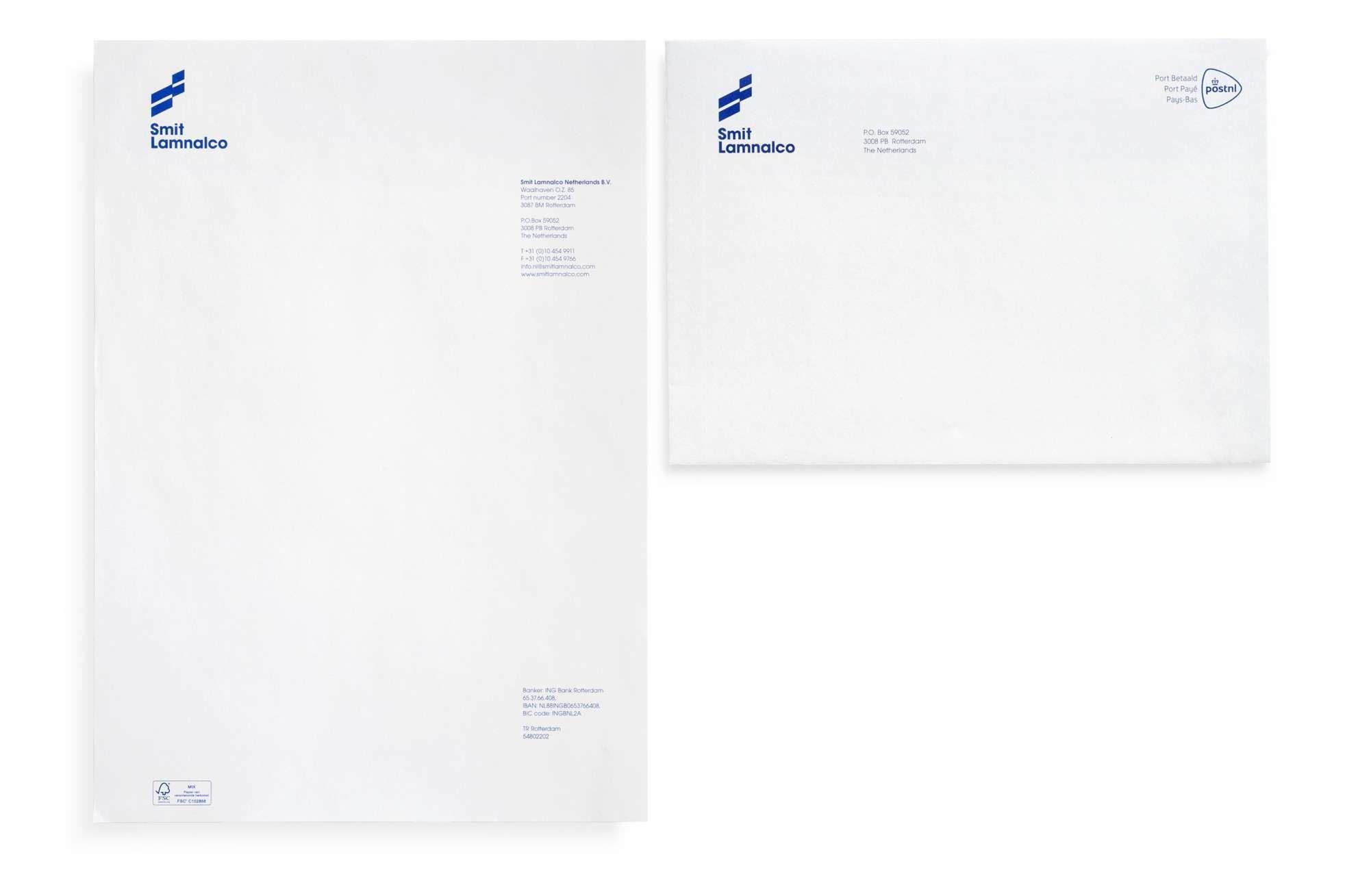 Studio Dumbar Smit Lamnalco Visual Identity Branding Visual Identity Identity Design Identity