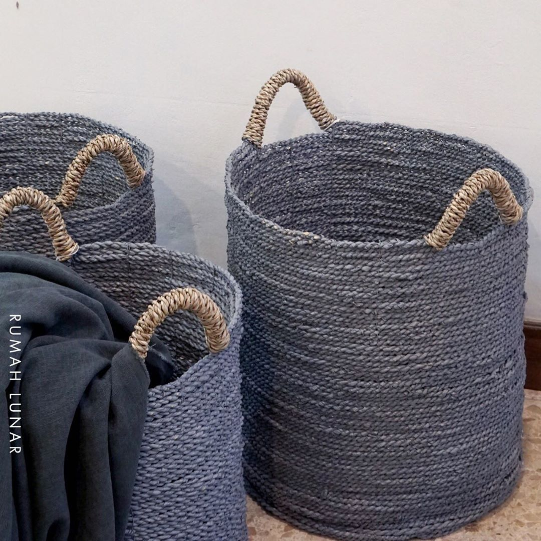 Abaca Laundry Basket Rumah Lunar Kemang Timur Raya 43b Jakarta