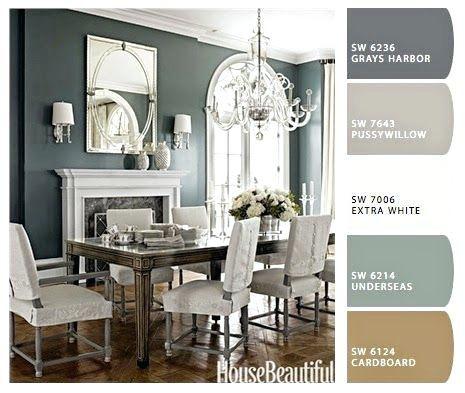 Bon Modern Dining Room Paint Color Terrific Dining Room Paints Enchanting Color  Palette Home Design Ideas Best