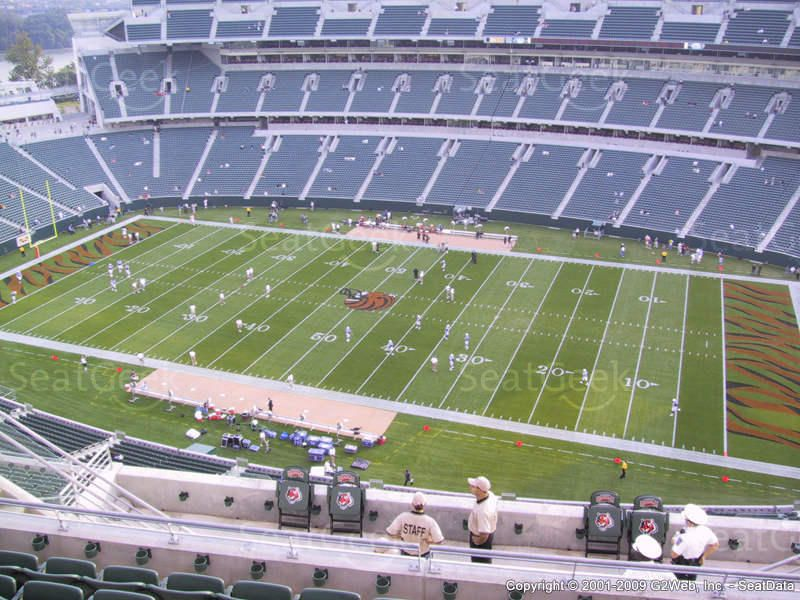 Paul Brown Stadium Seating Section 337 Seat View