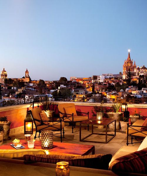 Roof With A View Rooftop Bars Around The World Best Rooftop Bars San Miguel De Allende Rooftop