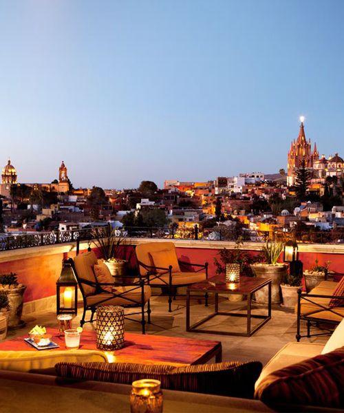 The Best Rooftop Restaurants In San Miguel De Allende San