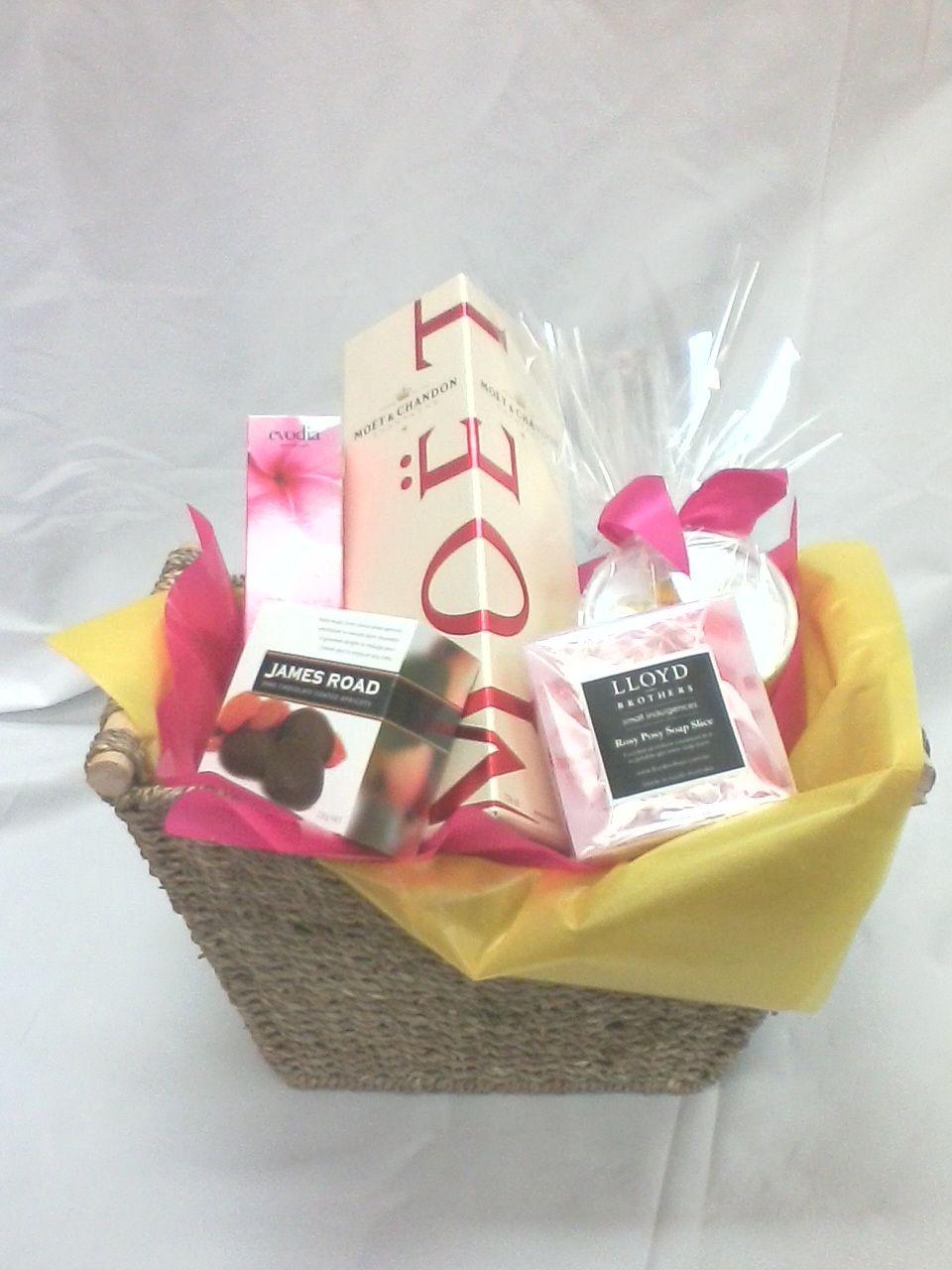 Moet More Gift Basket From Sendabasketsa Unley South Australia