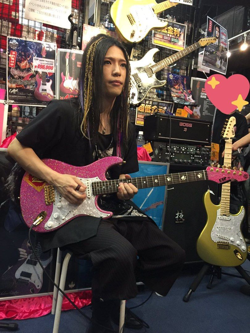Takayoshi ohmura band group my favorite music guitarist
