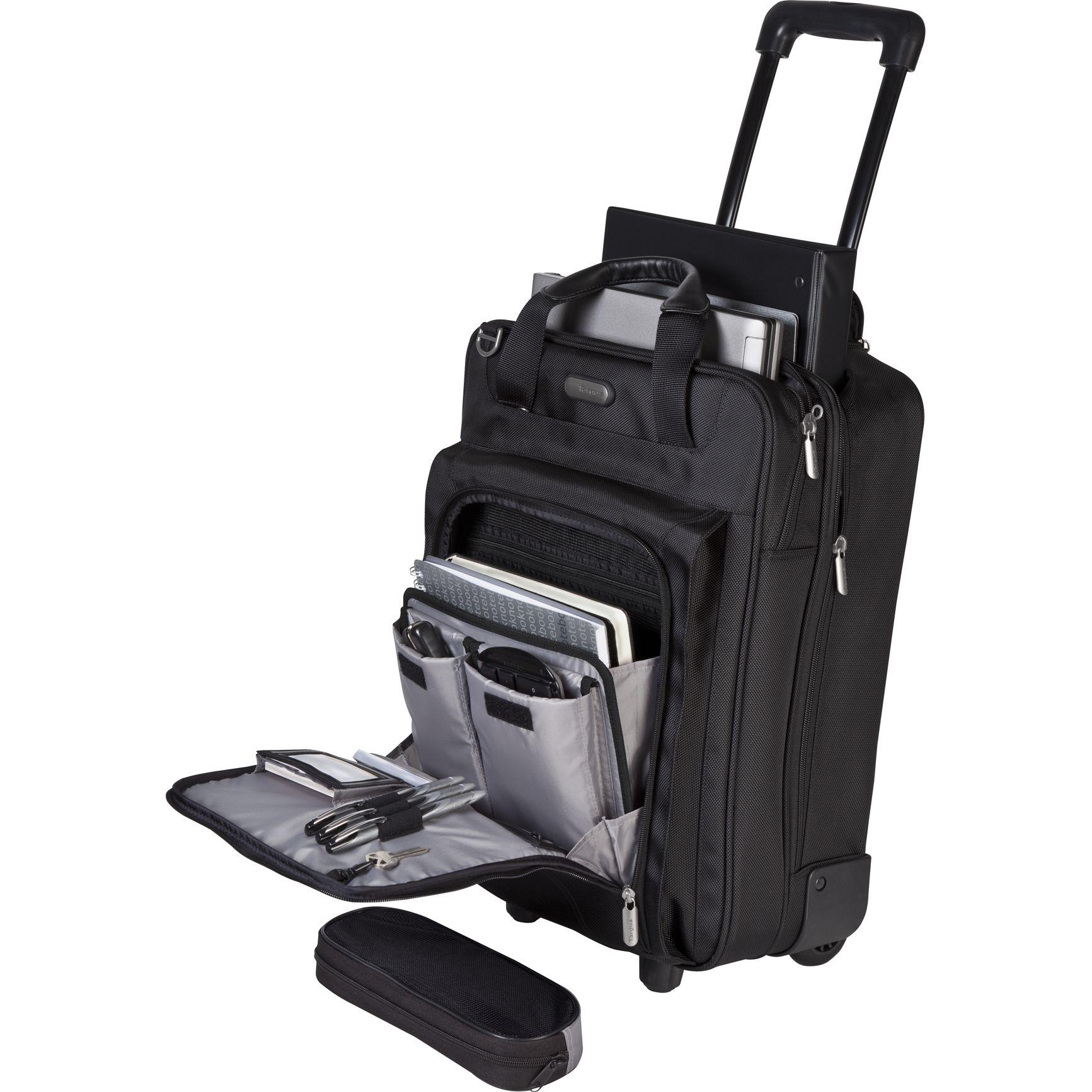 17 Corporate Traveler Vertical Rolling Laptop Case Rolling Laptop Case Best Laptop Cases 17 Inch Laptop Bag
