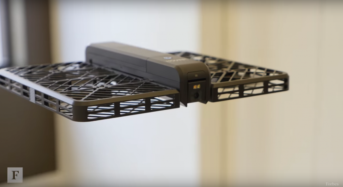 Chinese Drone Startup Comes Out Of Hiding Unveils Hover Camera Designed For Use Indoors Drone Camera Foldable Drone Best Camera