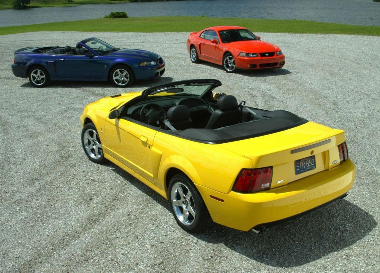 2004 ford mustang svt cobra convertible