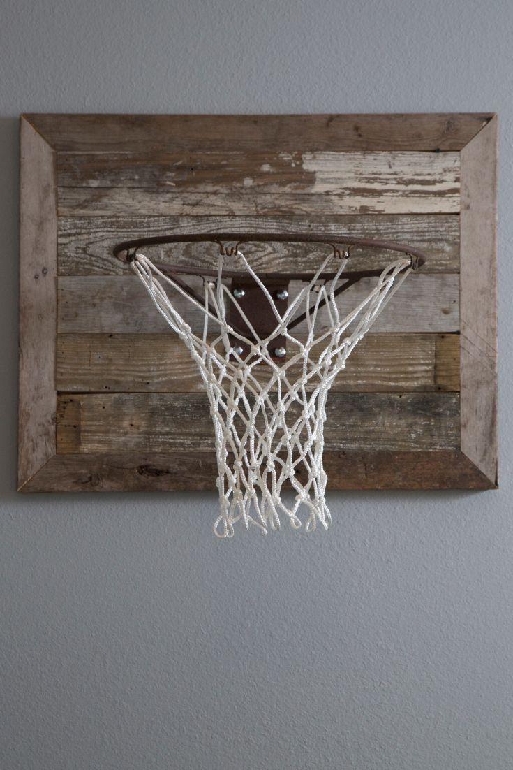 reclaimed basketball backboard - Bett Backboard Ideen