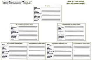 genealogical charts free download