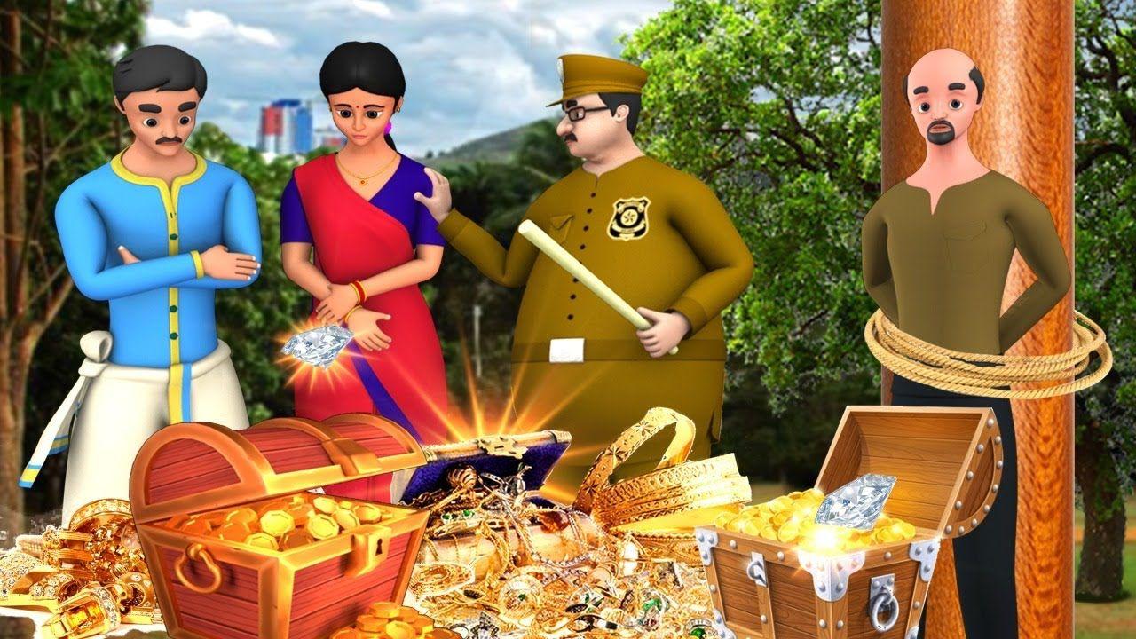 ಮೂರ್ಖ ಆಭರಣ ಕಳ್ಳ Foolish Jewel Thief Kannada Story