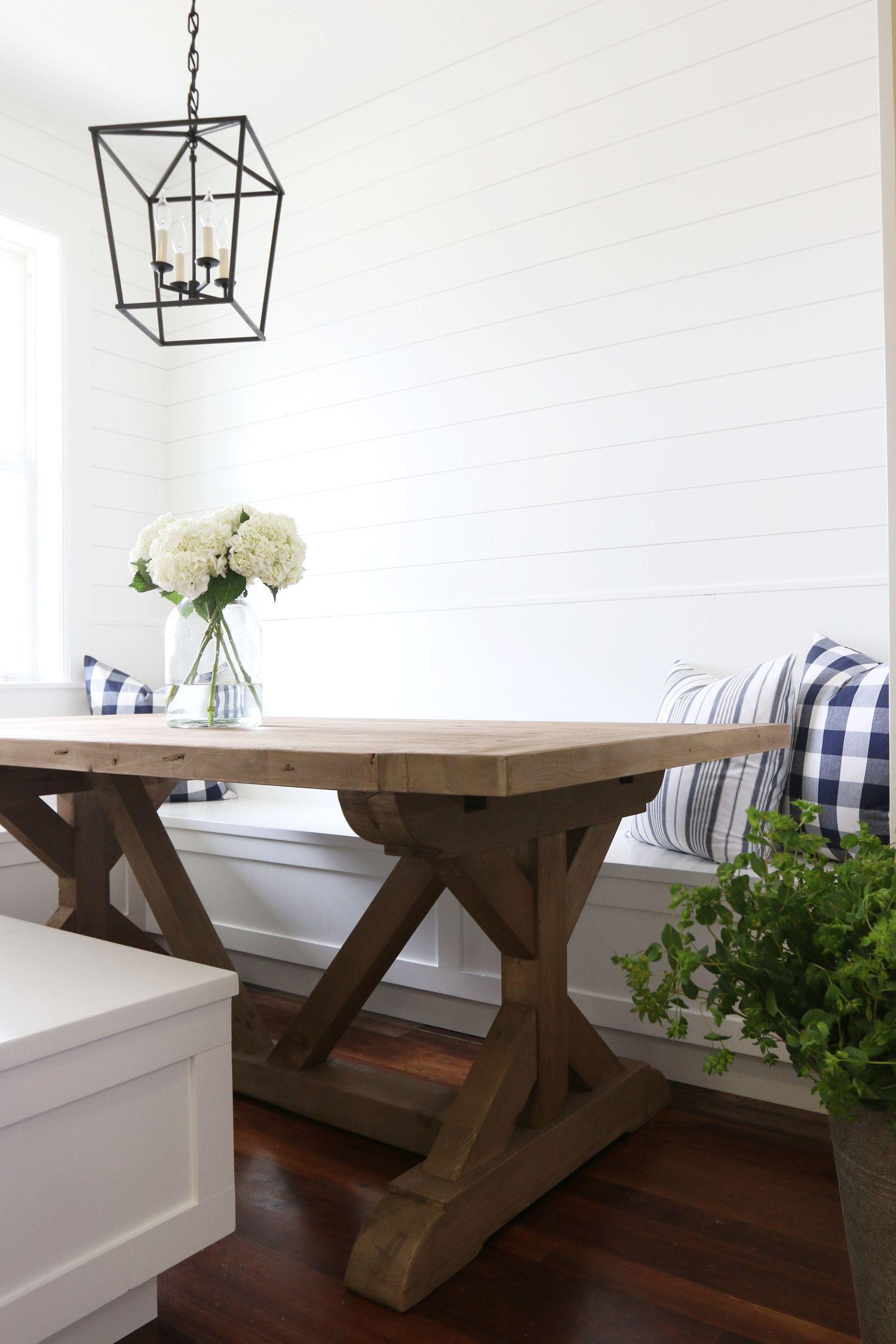 Farmhouse kitchen nook by Studio McGee | home | Pinterest | Tisch