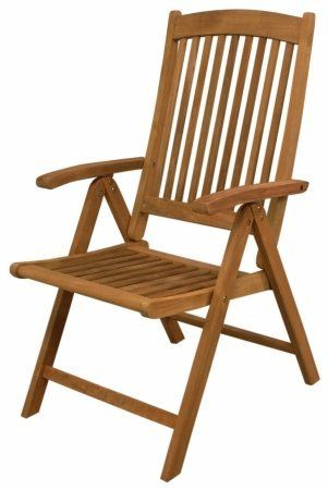 Seateak 60062 Avalon Folding Multi Position Deck Chair With Arms Oiled Finish Check Out The Image By Visiting Link