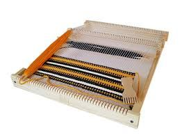 Resultado de imagen para tecnicas para tejer en telar triangular 150 por 150