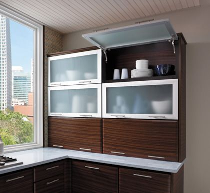 aluminum kitchen cabinet doors starmark cabinetry wall cabinet with tip up door aluminum 10548