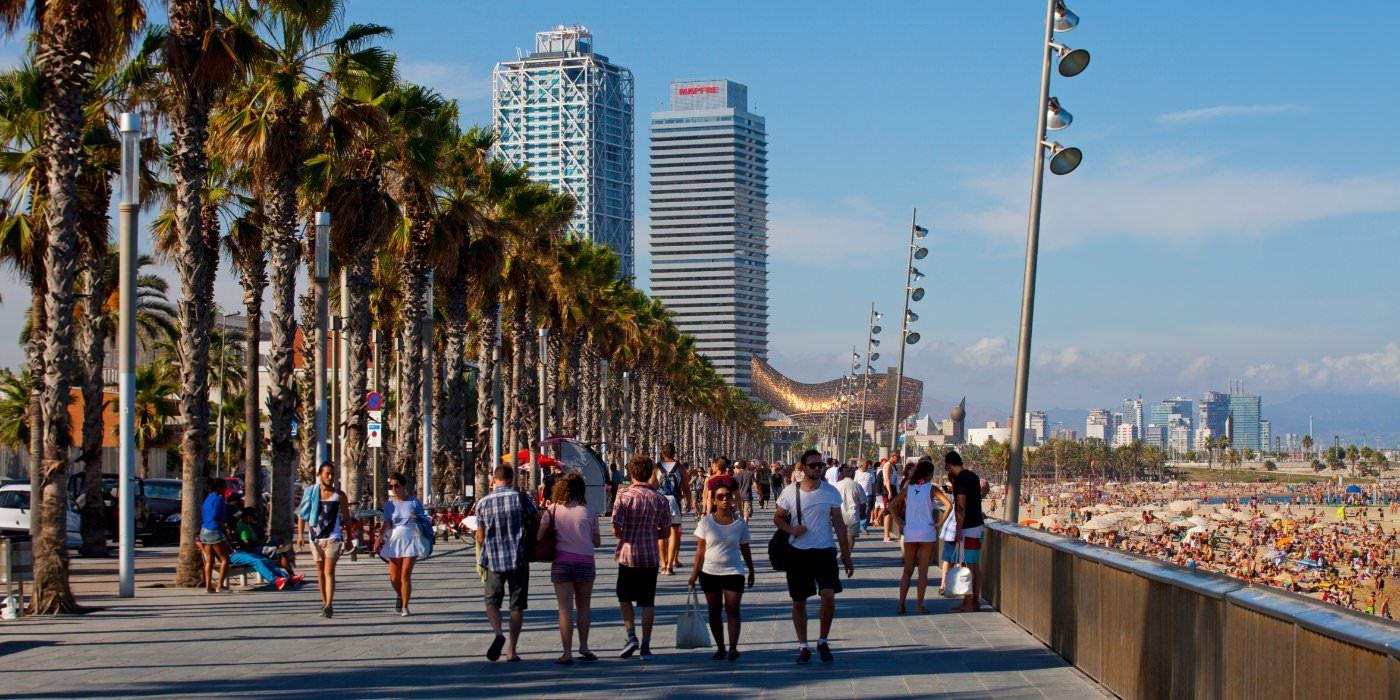 Passeig Marítim de la Barceloneta.