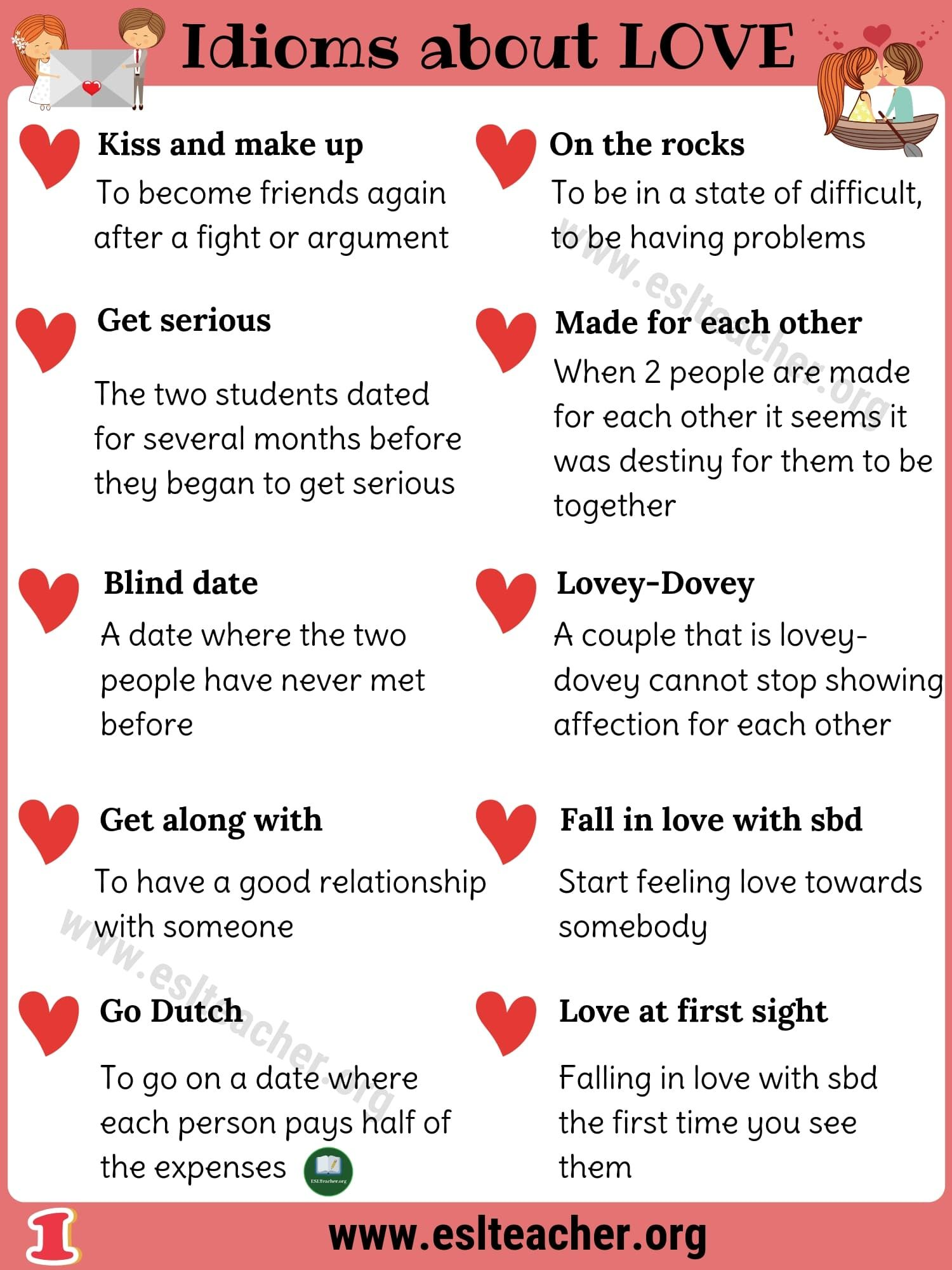 Heart Idioms Worksheet   Printable Worksheets and Activities for Teachers [ 2000 x 1500 Pixel ]