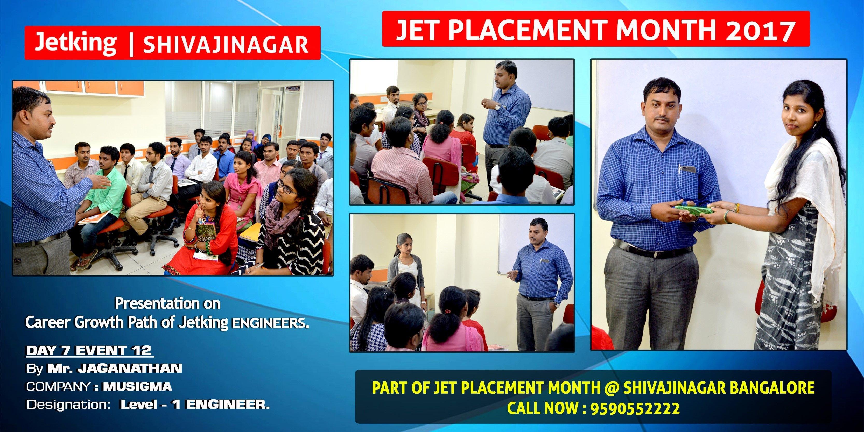 Day 7 event 12 presentation on presentation on career
