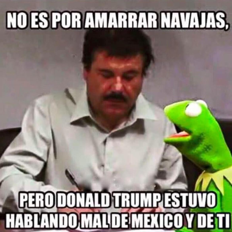 Donald Trump Funny Memes In Spanish : Donald trump vs el chapo los memes más divertidos
