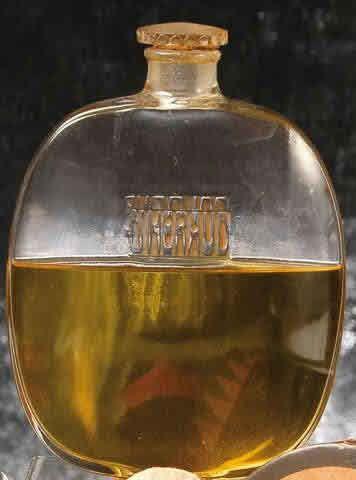 Lalique Perfume Bottle Eau De Cologne D'Heraud