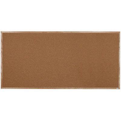AARCO Wall Mounted Bulletin Board Size:
