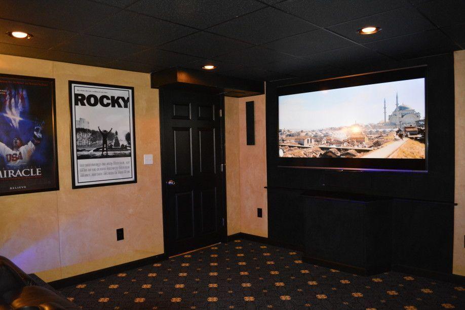 23 Basement Home Theater Design Ideas For Entertainment Film reels