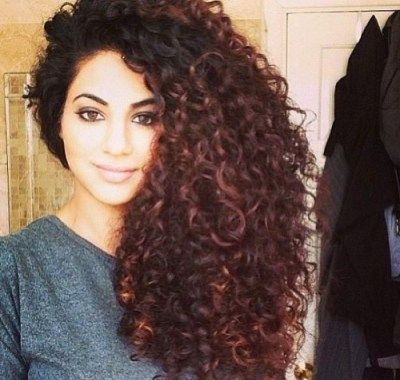 Long Natural Curly Hairstyles Tumblr | Hairstyles Ideas For Me ...