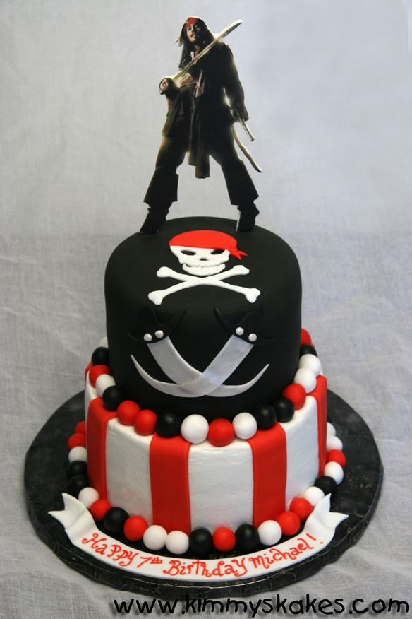 Peachy Pirates Of The Caribbean Cake Cake Custom Cakes Party Cakes Funny Birthday Cards Online Aeocydamsfinfo