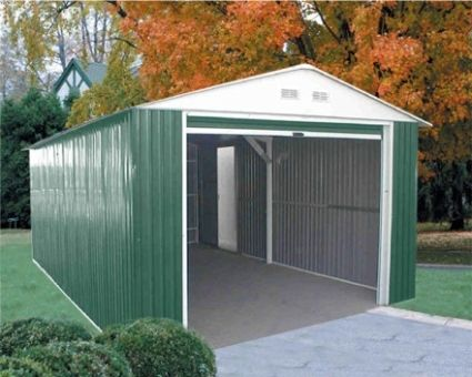 Duramax 12x20 Imperial Metal Storage Barn Garage Metal Storage Buildings Barn Storage Metal Garages