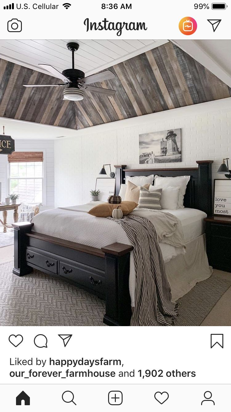Pin by Vicki on House Ceiling fan bedroom, Farmhouse