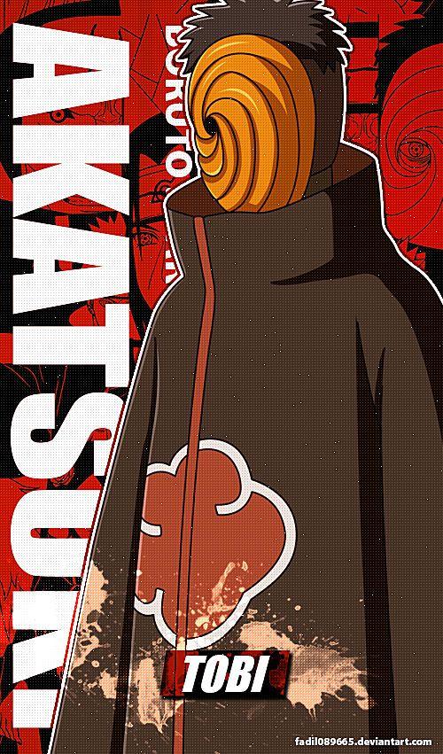 Naruto Wallpapers Mobile : Tobi (Obito)   Akatsuki by Fadil089665 on DeviantArt