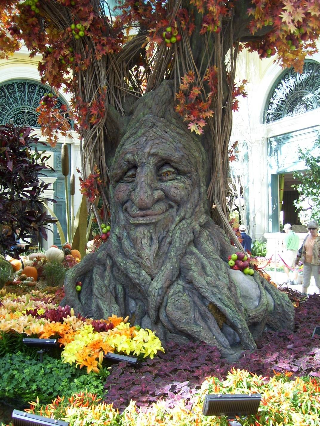 Autumn tree, Bellagio Conservatory and Botanical Garden, Las Vegas