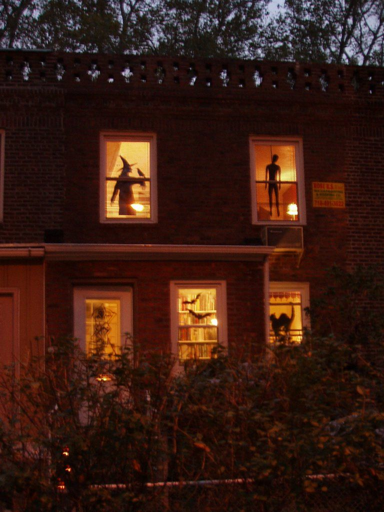 pinterest/nrypcl/ HAPPY HALOWEEN Pinterest - Window Halloween Decorations