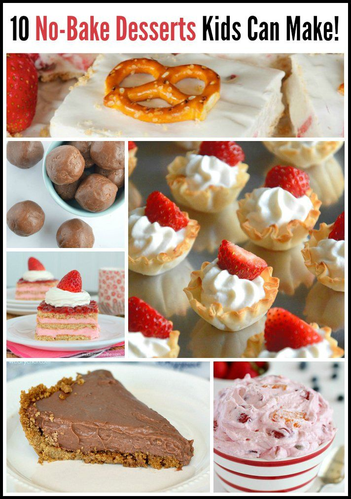 10 No,Bake Desserts Kids Can Make Themselves