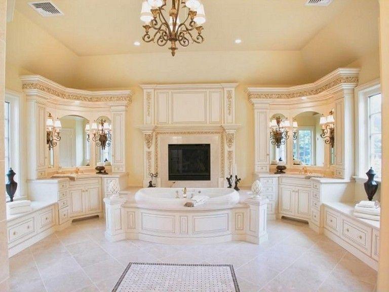 65 Elegant Master Bathroom Design Ideas For Amazing Homes Luxury Bathroom Master Baths Luxury Master Bathrooms Master Bathroom Design