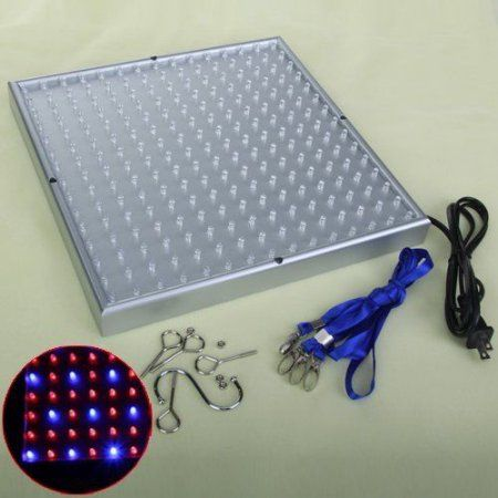 225 LED Full Spectrum Grow Light Lamp Panel Quad-band For Hydroponic Plant Lamp