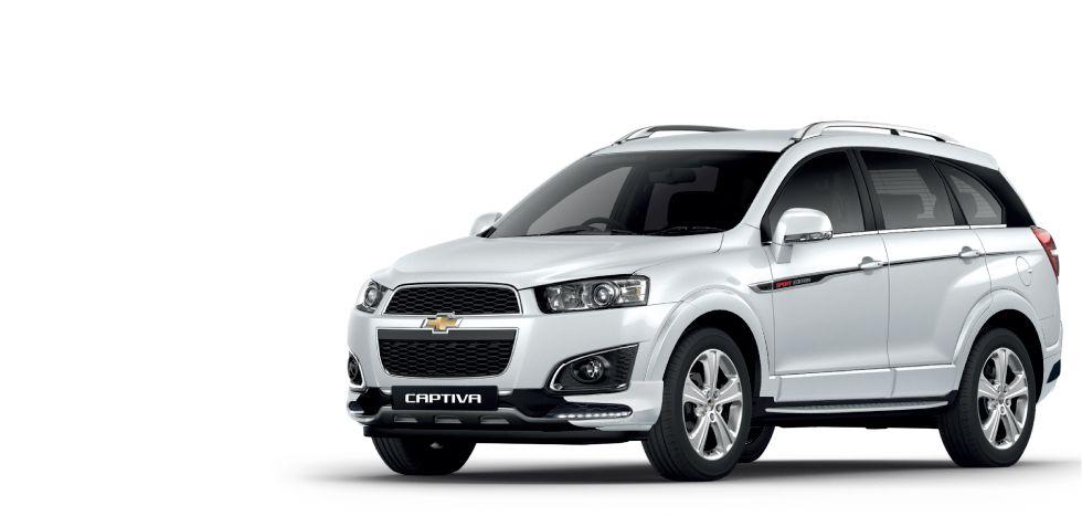 Chevrolet Captiva Svp เชฟโรเลต แคปต วา ร น Sport Edition