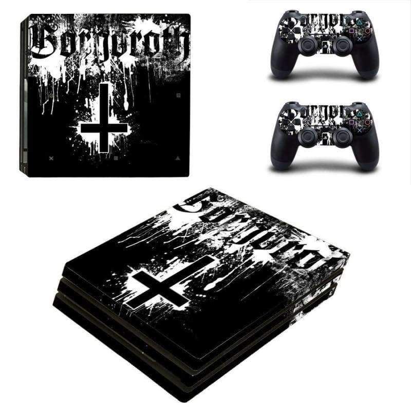 Gorgoroth Ps4 Pro Skin For Playstation 4 Pro Console And