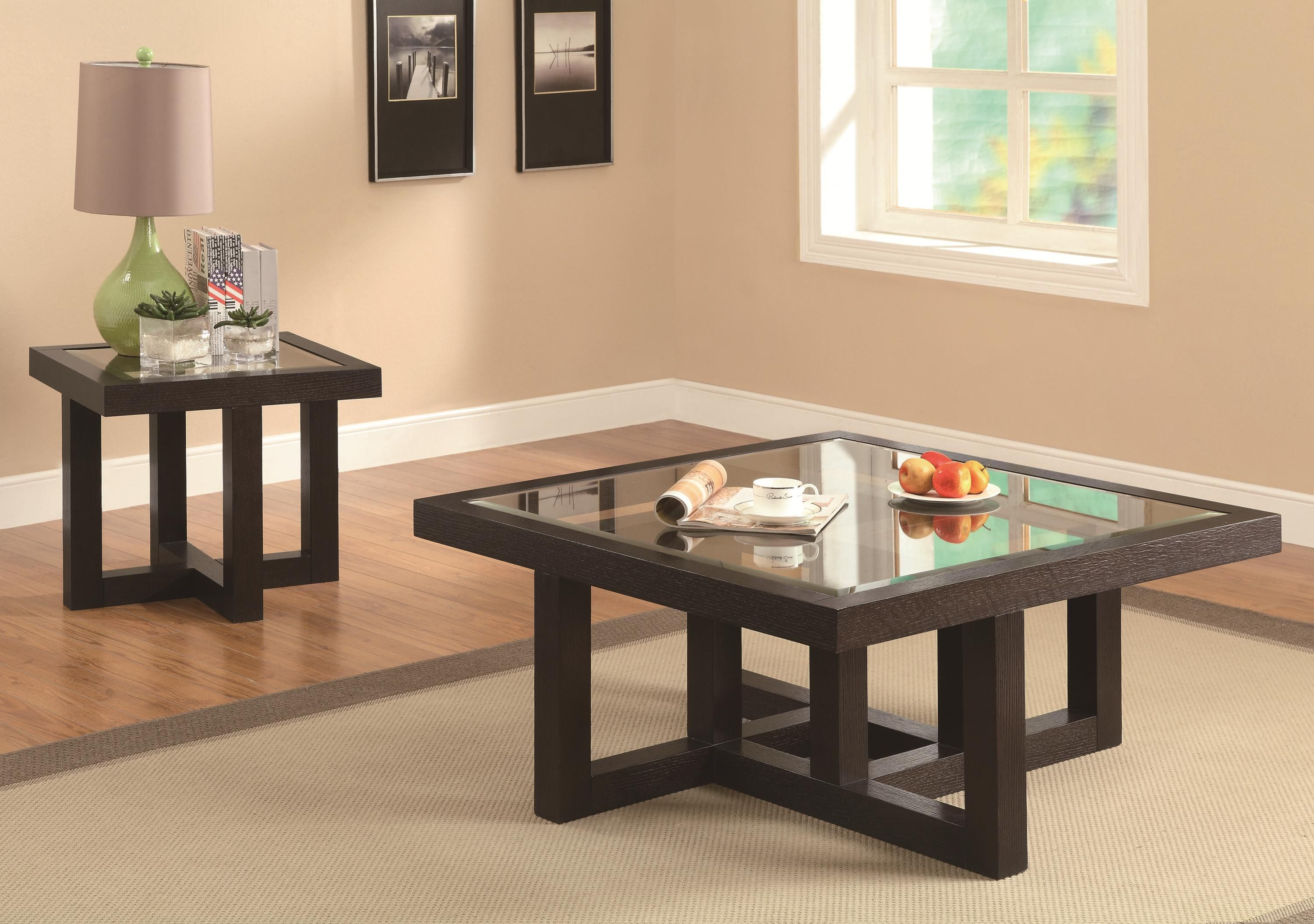 Contemporary Occational Group Coffee Table Home Coffee Tables Brown Coffee Table [ 2111 x 3000 Pixel ]