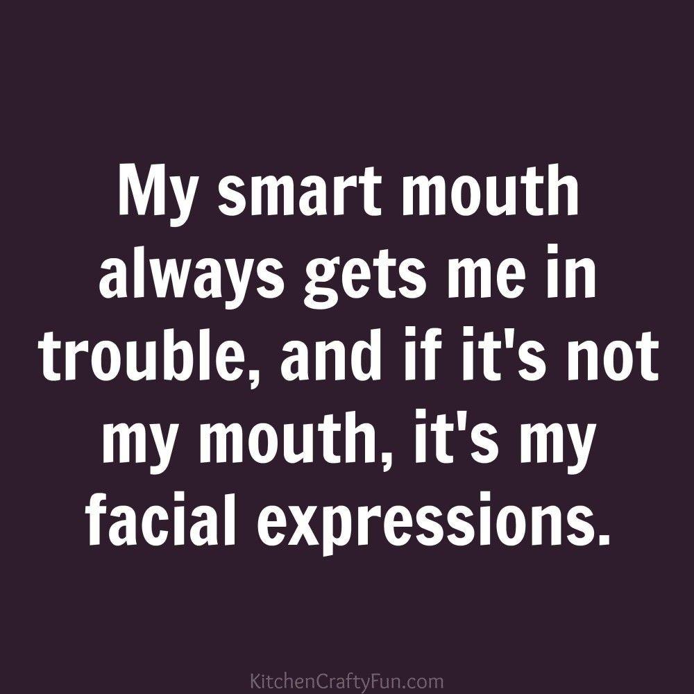 Women Open Mouth