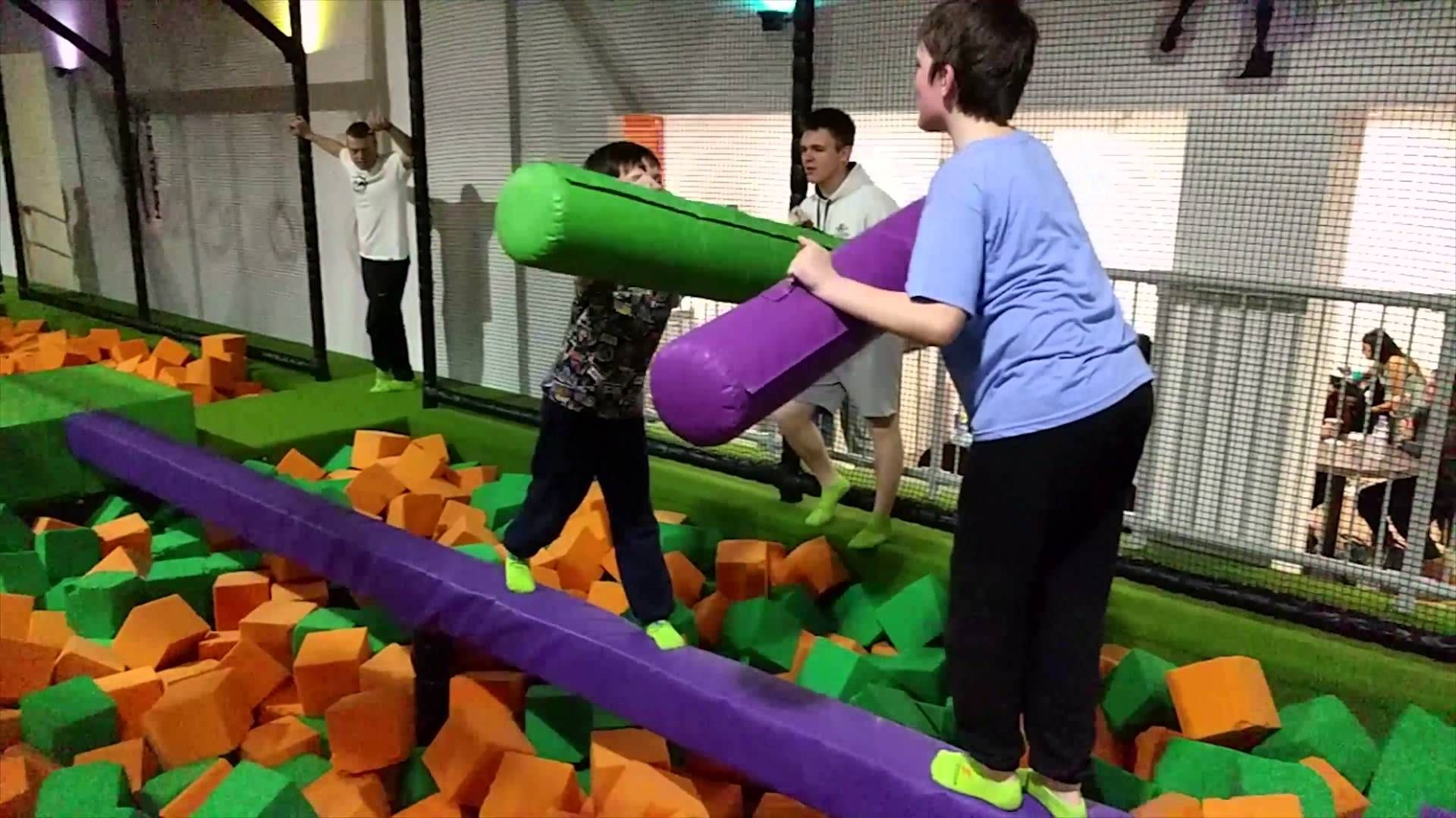 Play Dodgeball at Jump Arena Park in Leeds, Luton