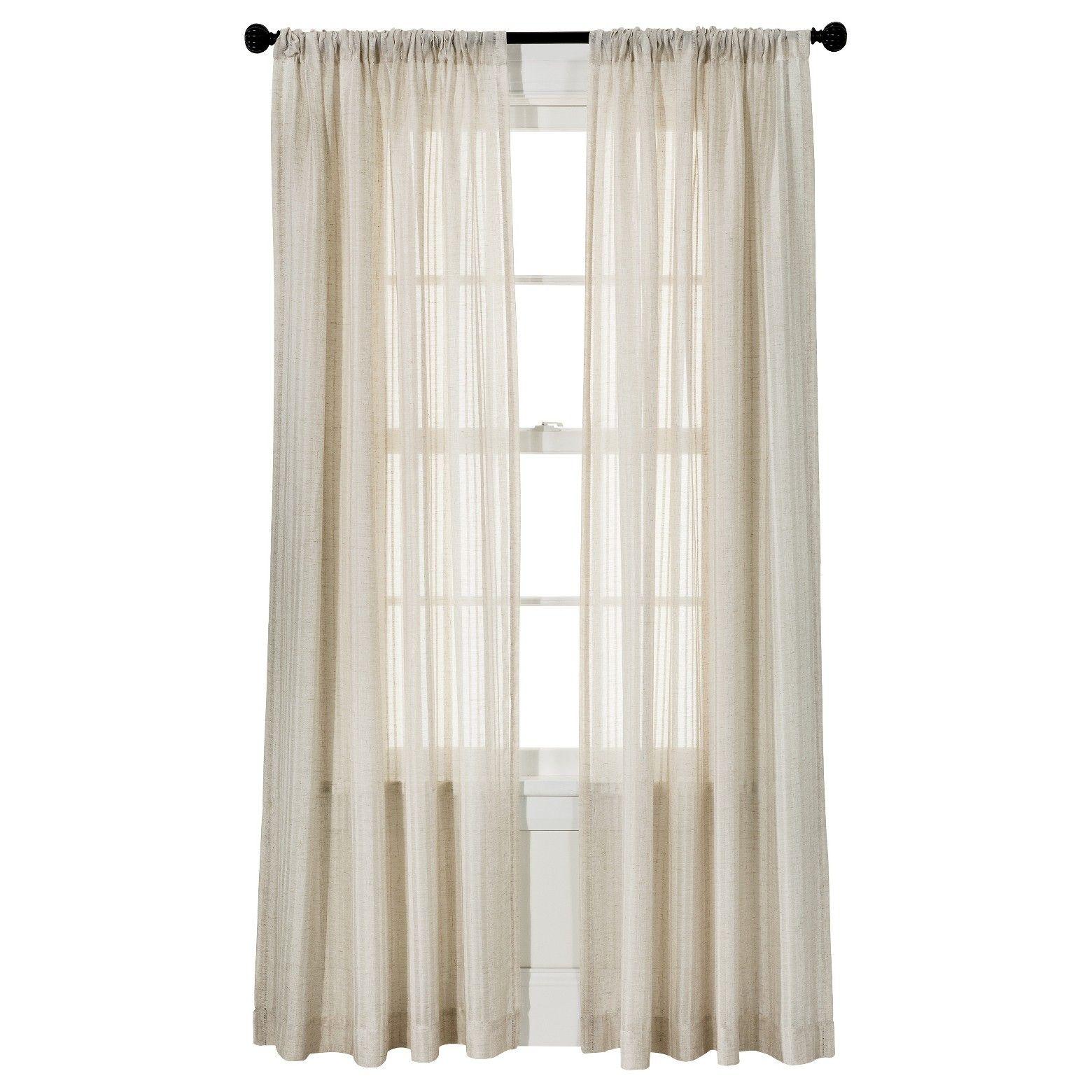 Threshold leno weave sheer curtain panel window sheers window and