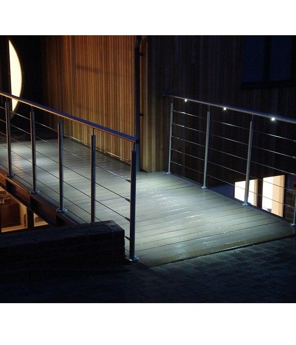 A well-chosen balustrade and handrail will complete your building