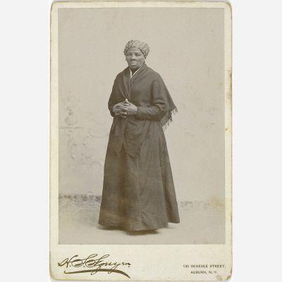H. Seymour Squyer, Harriet Tubman (1885). Photo: National Portrait Gallery.
